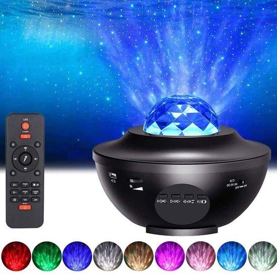 Living Nine Sterren Projector - Met Bluetooth - Galaxy Projector - Sterrenhemel - USB - Star Projector