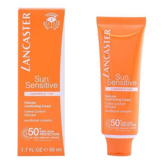 Lancaster Sun Sensitive Delicate Comforting Cream SPF50 Zonnebrand - 50 ml