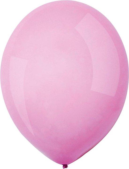Amscan Ballonnen Macaron 13 Cm Latex Roze 100 Stuks