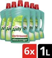 Andy Vertrouwd Allesreiniger - 6 x 1 liter - Voordeelverpakking