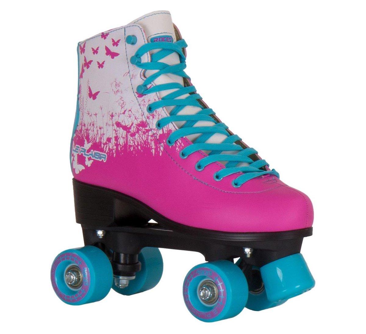 Roces Rolschaatsen Le Plaisir Dames Roze/blauw Maat 38