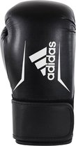Adidas Speed 100 Bokshandschoenen Zwart/Wit -14 OZ