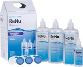 1 x ReNu MPS sensitive eyes Multipack - 3 x 360 ml + 60 ml + 4 lenshouders - Lenzenvloeistof