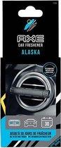 Axe Luchtverfrisser Alaska Aluminium Zwart/zilver 3-delig