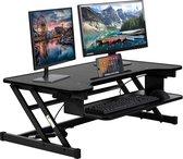BEST OFFICE FDW-JY-45-Black Verstelbaar sta bureau - 81.28 cm- ergonomisch – Zwart