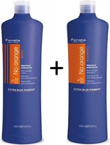 Fanola No Orange Shampoo + Masker set - 1000 ml