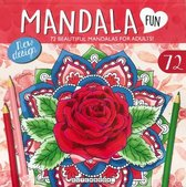 Mandala Kleurboek voor Volwassenen met 72 Kleurplaten - Rood