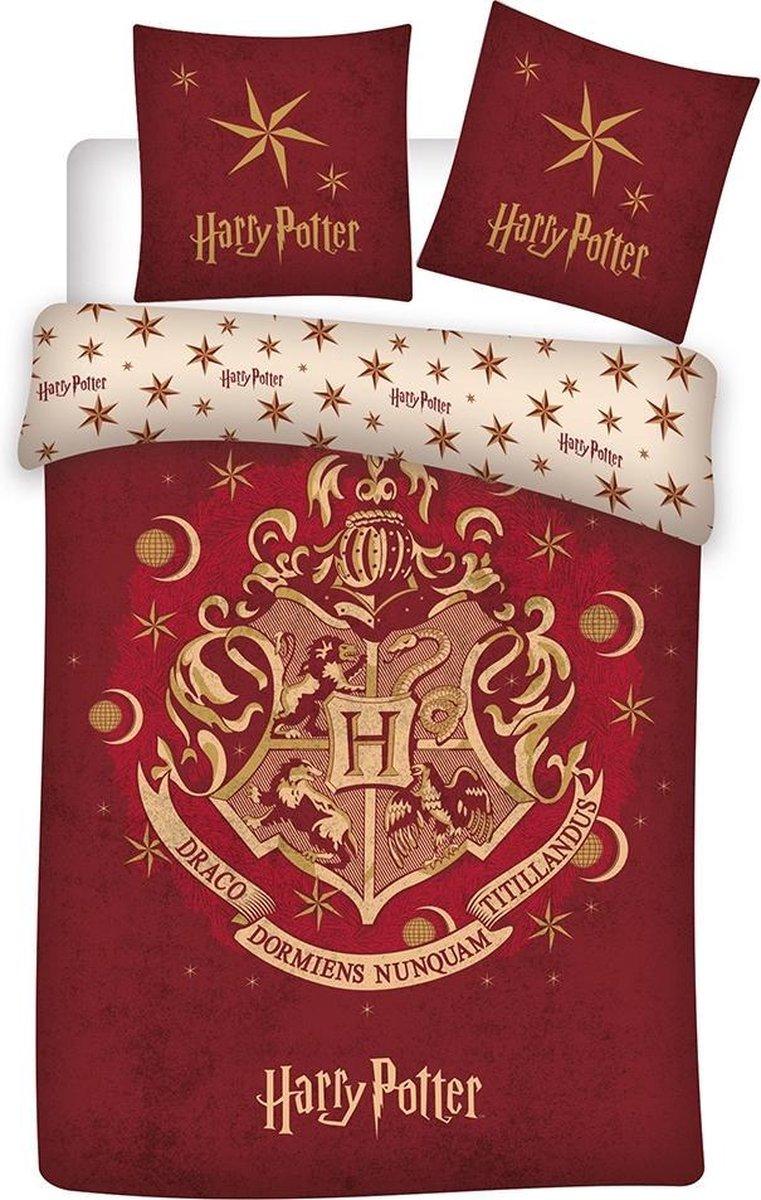 Harry Potter Zweinstein - dekbedovertrek - 140 x 200 cm - Multi kopen
