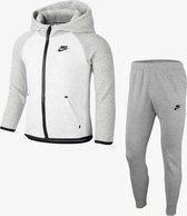 Nike Sportswear Tech Fleece Baby Hoodie En Joggers Set - Grijs - Maat 92