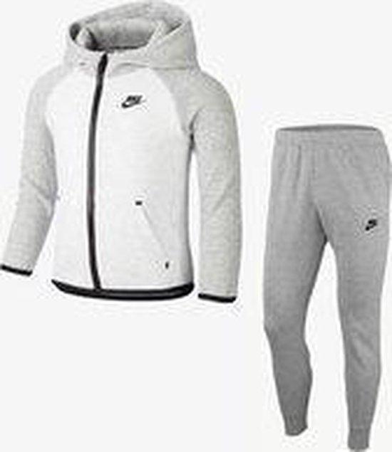 Sportswear Tech Fleece Baby Hoodie En Joggers Set - Grijs - Maat 92