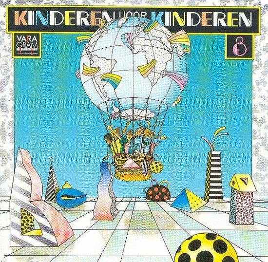 CD cover van Kinderen Voor Kinderen - Deel 8 van Kinderen voor Kinderen