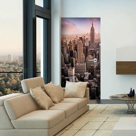 Fotobehang – Behangpapier - Fotobehang voor deuren - Photo wallpaper – New York I 100x210 - Artgeist