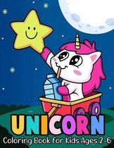 Unicorn Coloring Book for Kids Ages 2-6
