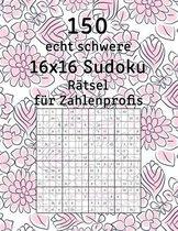 150 echt schwere 16x16 Sudoku Ratsel fur Zahlenprofis