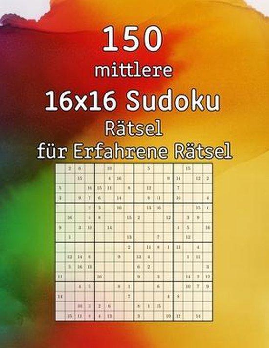 150 mittlere 16x16 Sudoku Ratsel fur Erfahrene Ratsel