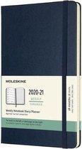 Moleskine 18 Maanden Agenda - 2020/21 - Wekelijks - Large (13x21 cm) - Sapphire Blue - Harde Kaft
