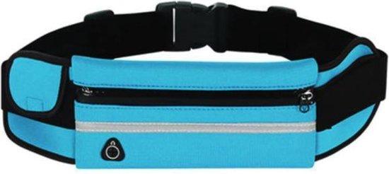 Sens Design hardlooptasje telefoon heuptasje sport running - blauw