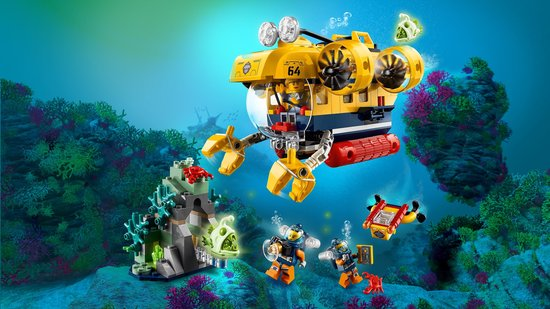 LEGO City Oceaan Verkenningsduikboot - 60264