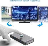 Rocketek USB 3.0 switch - 2 computers delen 4 usb poorten