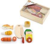 Viga Toys - Snijset Houten Speelgoed Lunch Box
