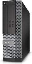 Dell kleine PC desktop met DVD - 240gb SSD - 4gb R