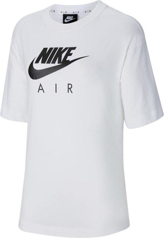 Nike Air shirt dames wit/zwart