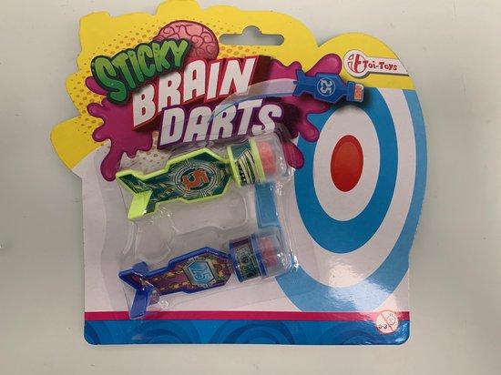 Thumbnail van een extra afbeelding van het spel Sticky darts 4 sets