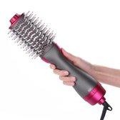 Professionele 3-in-1 Hair Dryer & Volumizing Brush - Keramische Föhnborstel - One Step Haardroger - Ionische Stijl/krul borstel voor Volume
