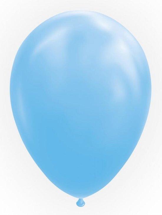 Licht blauwe ballonnen 30cm 10 stuks