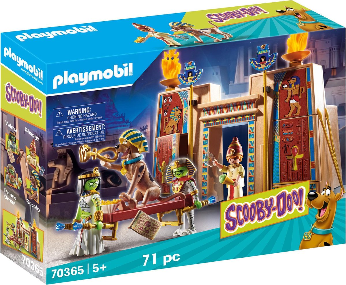 PLAYMOBIL Scooby-Doo! In Egypte - 70365