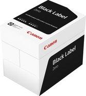 Canon kopieer/printpapier - Black Label Zero - FSC - A4 - 80 grams - 1 doos - 5 pak a 500 vel