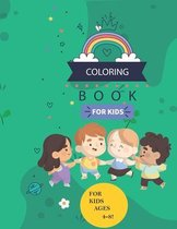 Coloring Book for Kids (4-8)