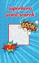 Superhero Word Search