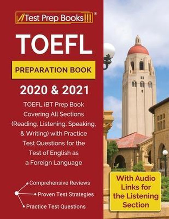 TOEFL Preparation Book 2020 and 2021