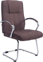 Clp Basel V2  - Bezoekersstoel - Stof - Bruin