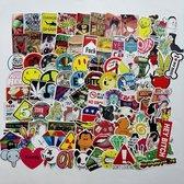 100x Skateboard stickers Decals | Mr. BamBoom | Skateboard pimpen Set | Skating | Koffer | Laptop | Set 2