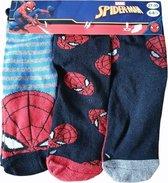 3 paar sokken Spider-Man - jongens- maat 31/34