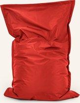 Drop & sit zitzak Nylon - Rood - 100 x 150 cm - binnen en buiten
