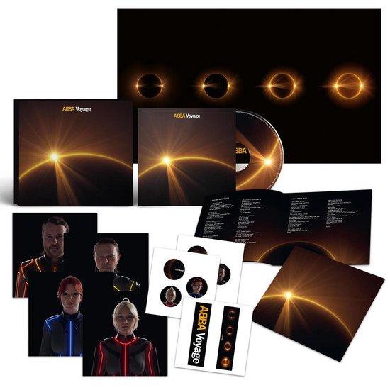 CD cover van Voyage (Deluxe Edition) van ABBA