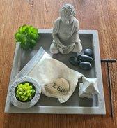 Boeddha - buddha - tuinbeeld - zen set