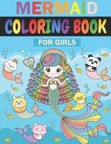 Mermaid Coloring Book For Girls