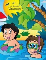 Livre de Coloriage Vacances 1