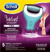 Scholl Velvet Smooth Oplaadbare Voetvijl Wet & Dry - Starter - 1 stuk