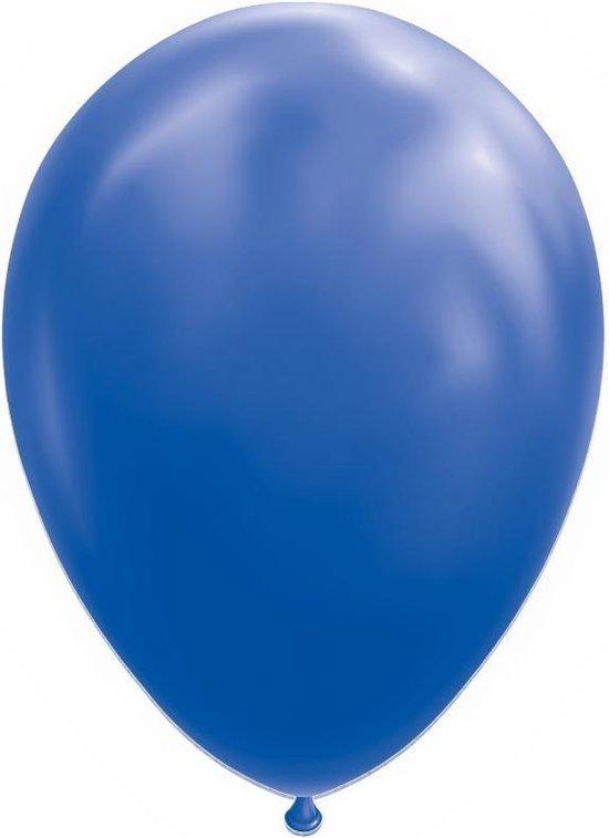 Wefiesta Ballonnen 30 Cm Latex Donkerblauw 10 Stuks