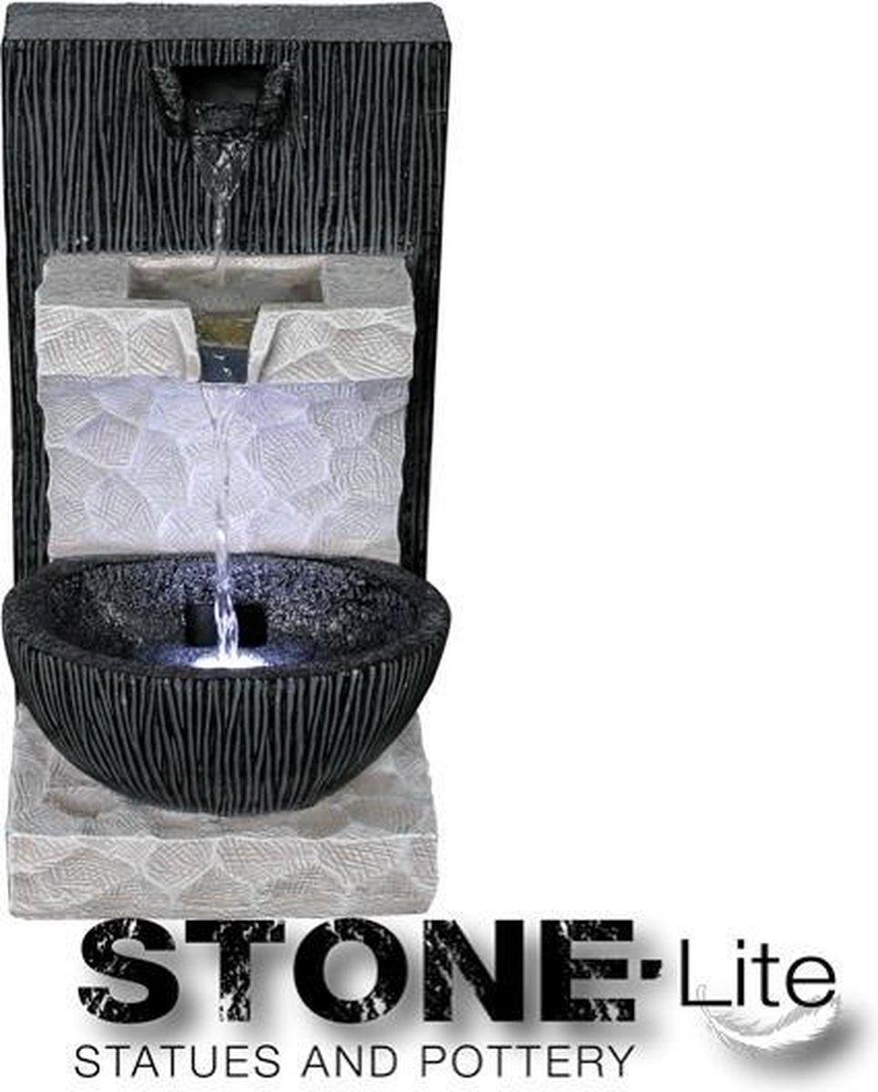Waterornament Kamer fontein TEXAS 20x18x36 inclusief pomp en verlichting