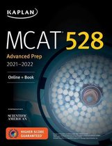 Boek cover MCAT 528 Advanced Prep 2021-2022 van Kaplan Test Prep