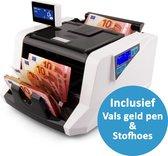 SCANNUM® Biljettelmachine - Stofhoes - 1000 Biljetten/minuut - 4-Voudig...