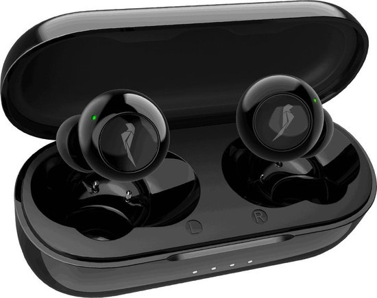 Picolet Beat Icons - Volledig Draadloze Oordopjes - in-Ear Oortjes Draadloos - Bluetooth Earpods - IPX5 Airpods Wireless Buds - Sport Earbuds met Hi-Fi Geluid & Power Bass voor Apple iPhone Samsung Galaxy Android Huawei OnePlus