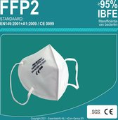 FFP2 Mondkapje Feilikang -Mondmaskers -Medische + SponDuct®