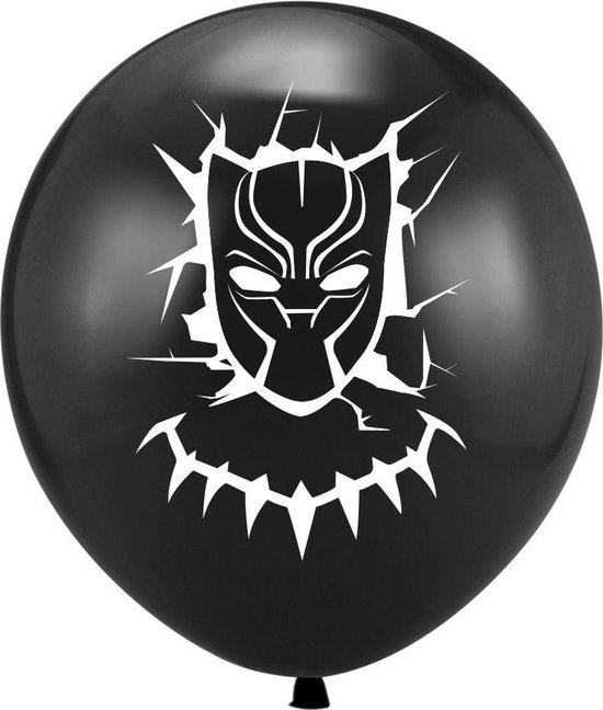 Black Panther Ballonnen - set van 6